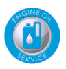 Oil Service Badge Image