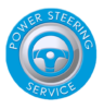 Full Power steering flush Badge Image